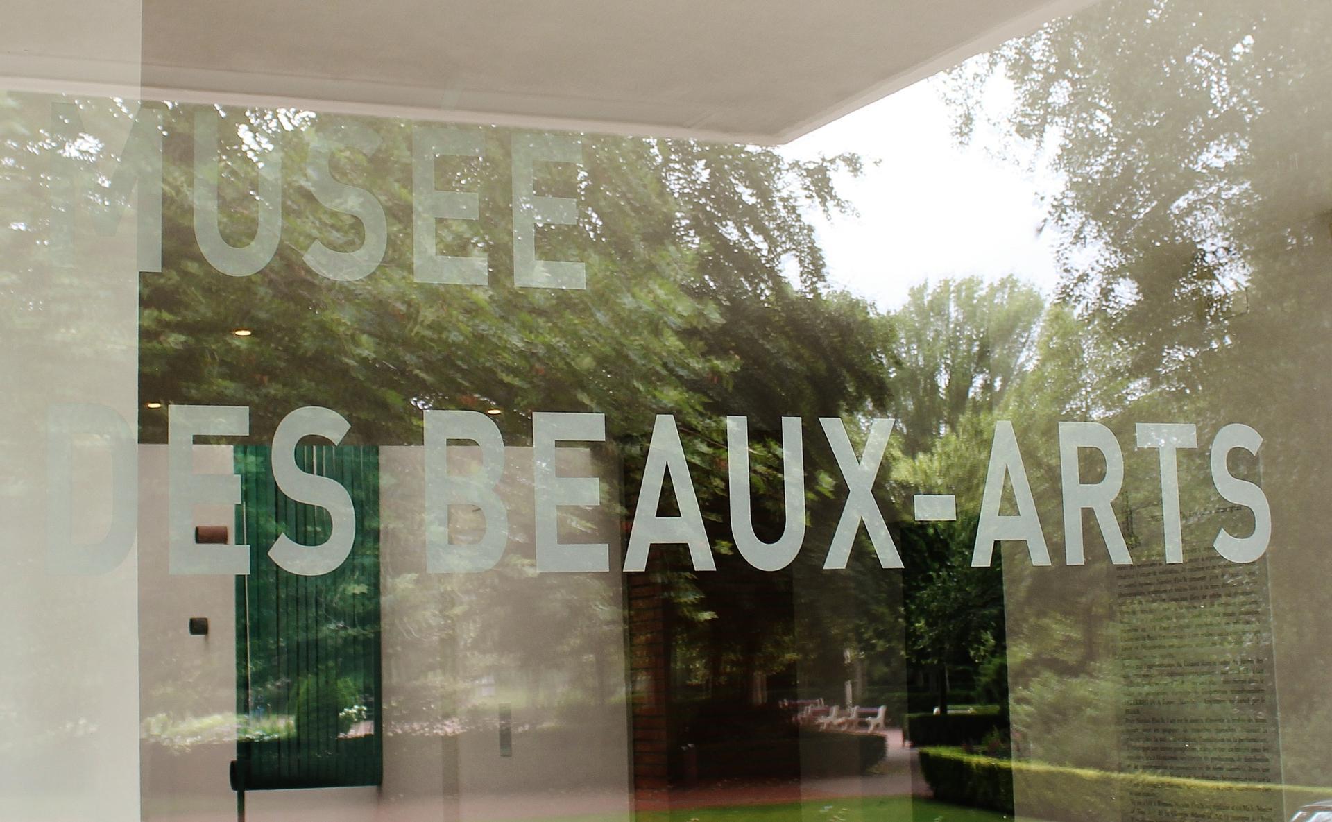 Musee des beaux arts de calais la vitrine